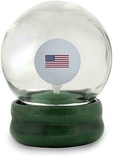 اصلی GOLF GLOBE GAME - Water Globe Golf-Ball-on-The-Tee Challenge