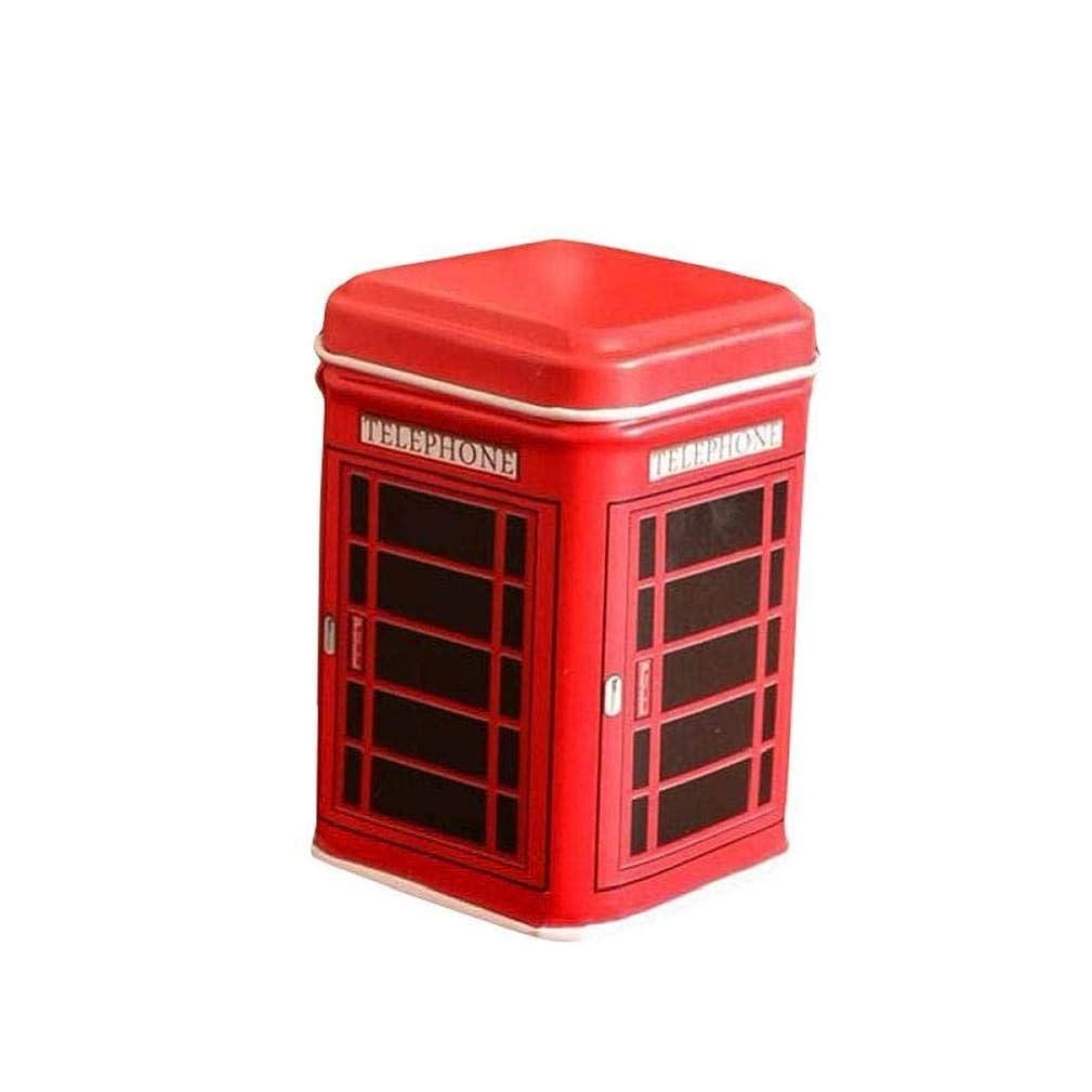 Noopvan Deal! Cion Storage Box,Metal Candy Trinket Tin Jewelry Iron Tea Coin Storage Square Box