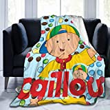 Ethereal Womoy Caillou Blanket Comforter Couch for Bed Outdoor Living Room Decoration 50'X40' Child Teens Women Men