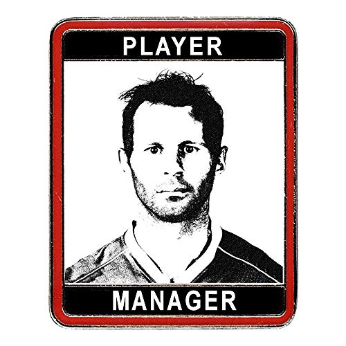 Manchester United FC Ryan Giggs Player Manager Badge – MUFC Man United Football Club Souvenir Geschenk