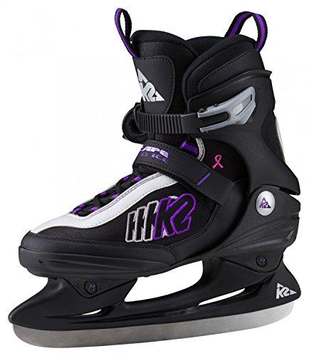 K2 Damen Eishockeyschuhe-Complet Escape Speed Ice W, Design, 8 Schlittschuhe, schwarz, 8