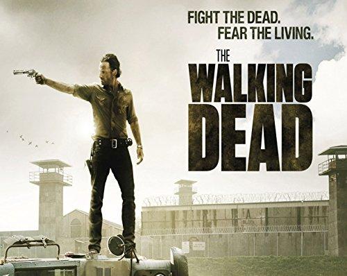 Alfombrilla para ratón con una imagen de Walking Dead