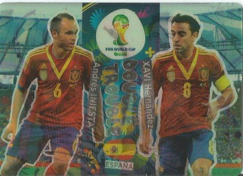 FIFA World Cup 2014 Brazil Adrenalyn XL Xavi Hernandez / And