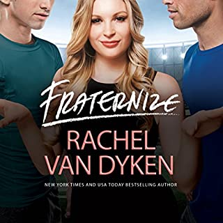 Fraternize     Players Game, Book 1              By:                                                                                                                                 Rachel Van Dyken                               Narrated by:                                                                                                                                 Summer Morton,                                                                                        Jeremy York,                                                                                        Aiden Snow                      Length: 9 hrs and 2 mins     13 ratings     Overall 4.5
