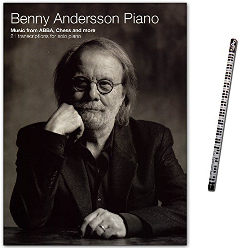 Benny Andersson Piano - Music from ABBA - 21 Stücke für Solo Piano - Notenbuch mit Piano-Bleistift