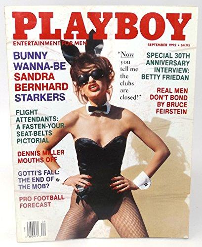 Playboy Adult Magazine: September 1992 (Sandra Bernhard)