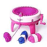 SUNEVEN 40 agujas para tejer, maquina de lana con agujas de hilo, accesorios para adultos y niños A