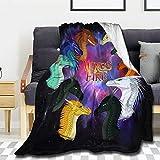 Manta de forro polar Wings of Fire para sofá, cama y mantas súper suaves y cálidas, ligera y acogedora
