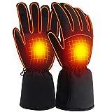 Svpro, Guanti termici riscaldati a batteria, per donne e uomini, invernali, scaldamani per sci, bici, moto