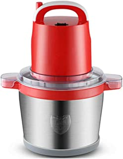 Electric Meat Grinder, 6L Food Processor, Mini Food Chopper with 2 Speed and Stainless Steel Bowl for Meat, Vegetable, Fru...