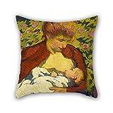 Giovanni Giacometti - Fundas de almohada para madre joven, 40 x...