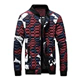 2019 New Mens Winter Camouflage Thickening Coat Pullover Shirt Top Jacket