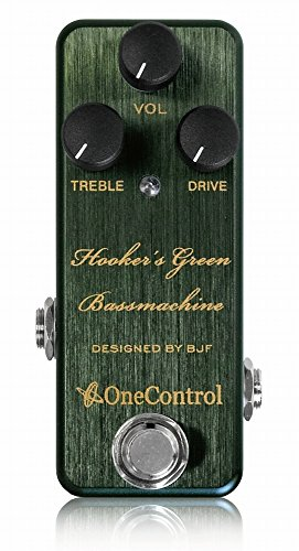 One Control/Hooker's Green Bass Machine