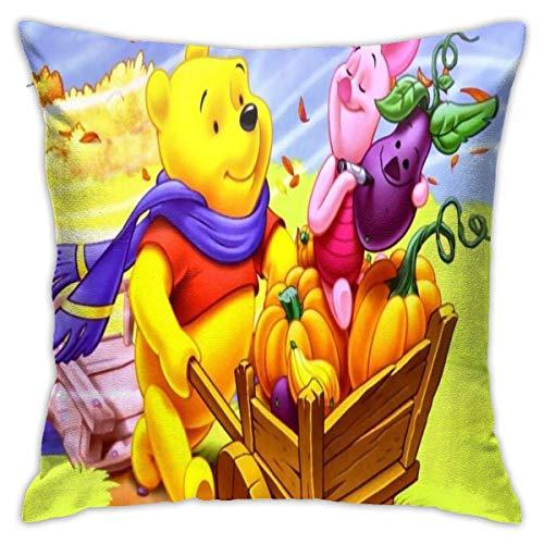 gshihuainingxianshekush Throw Pillows Covers Pillow Case Modern Cushion Cover Square Pillowcase Decoration-for Sofa Bed Chair Car 18 x 18 Inch