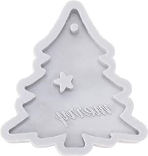 UPKOCH Christmas Silicone Mold - Merry Letter Baking Tool Cake Mold Fondant Mold for Craft Chocolate Clay