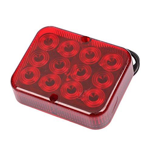 Luz LED antiniebla 12 - 24 V, universal 12 V, luz LED antiniebla trasera, remolque, transportador, caravana