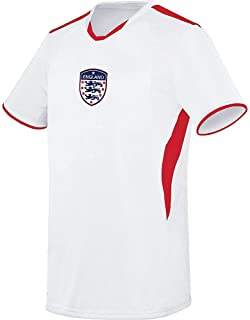 England The Three Lions Soccer Licensed Logo Jersey (Custom Name/Number or Blank Back)