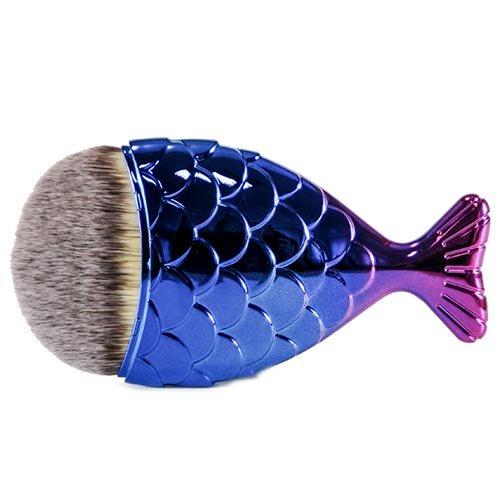 Fantasia Make-up Pinsel Fischform blau/pink Limitierte Edition