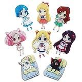 CoolChange Sailor M. 8 Kühlschrank Magneten mit Chibi