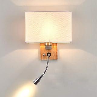 DROMEZ Applique Murale Intérieure avec Flexible LED Liseuse,Lampe Murale avec Interrupteur Chambre Minimaliste Moderne,Lam...