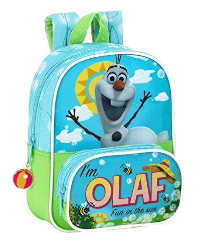 Frozen - Mini Mochila Infantil, diseño Olaf, 18 x 24 cm (SAFTA 611514533)