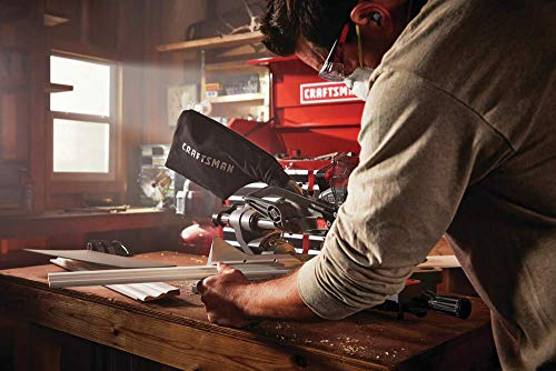 CRAFTSMAN V20 7-1/4-Inch Sliding Miter Saw Kit (CMCS714M1)
