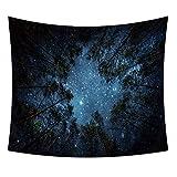 Constelación psicodélica Tapiz del Cielo Estrellado Espacio psicodélico Paisaje Colgante de Pared Noche Colgante Estrellado Mantel Toalla de Playa