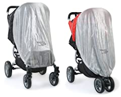 Compatible with Snap & Snap4 Stroller Full coverage to protect your child from harmful UV sun rays Guards your child from mosquitoes and other insects Easily slips on and off your stroller
