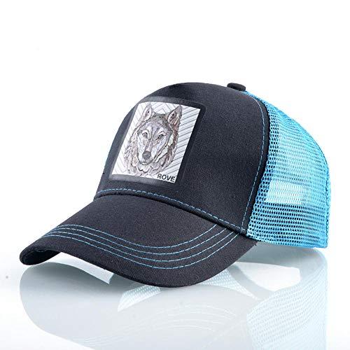 YDXC Malla Transpirable Unisex Gorras de béisbol 9 Tipos de Animales Unisex Sombreros de Sol para Las Mujeres Hip Hop Gorra visor-E13Bu1