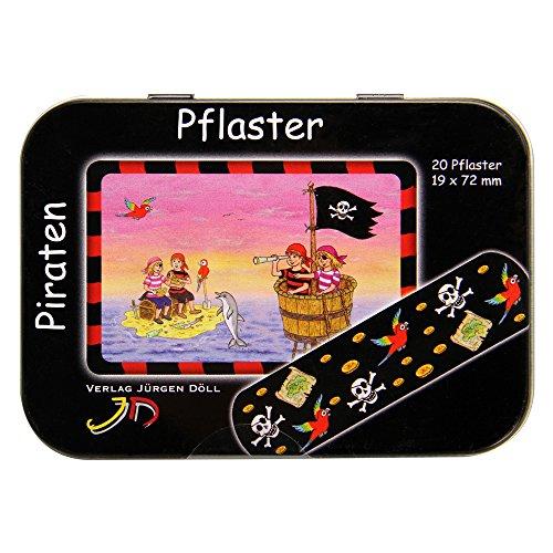 KINDERPFLASTER Piraten Dose 20 St