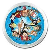 One Piece Straw Hat Pirates Reloj de Pared