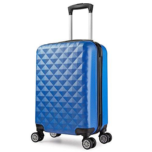 Trolley valigia 55cm bagaglio a mano ABS 40L 2.4kg super leggera 8 ruote rigida