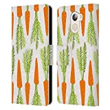 Official Haroulita Carrots Plants Leather Book Wallet Case
