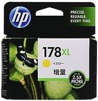 HP 178XL 純正 インクカートリッジ イエロー 増量 CB325HJ