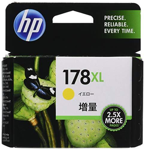 ヒューレット・パッカード HP 178XLインクカートリッジ イエロー 増量