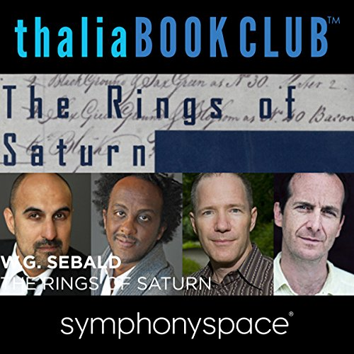 Thalia Book Club: W. G. Sebald's Rings of Saturn audiobook cover art