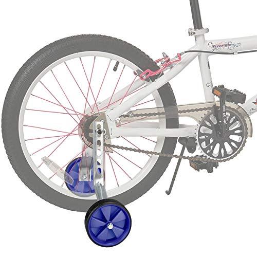 Sunshine smile Bike Training Räder,stützräder für kinderfahrrad,Fahrrad Stützräder für Kinder,Universal Kinder Stützräder,auf 16-22 Zoll-Fahrräder. (Blau) - 6