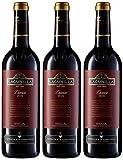 Lagunilla Crianza Vino Tinto D.O Rioja - 3 botellas x 750 ml - 2250 ml