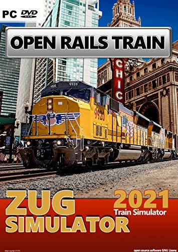 ★ZUG SIMULATOR Train Simulator Open Rail 2021 neu auf DVD für Windows PC GAME ★