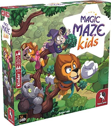Pegasus Spiele 57202G Magic Maze Kids - Juego de Mesa Infantil