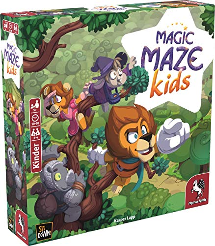 Pegasus Spiele 57202G - Magic Maze Kids