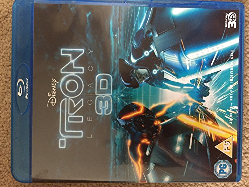 TRON 3D 1DISC - BUNDLE [Blu-ray] [UK Import]