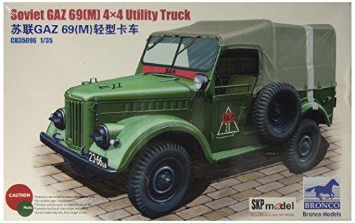 Unbekannt Bronco Models cb35096 – Modèle Kit GAZ 69, M 4 x 4 Utility Truck