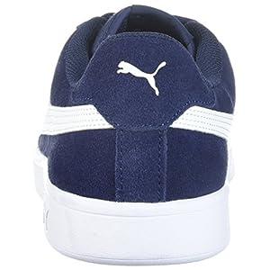 PUMA Men's Smash 2 Sneaker, Peacoat-White, 11 M US