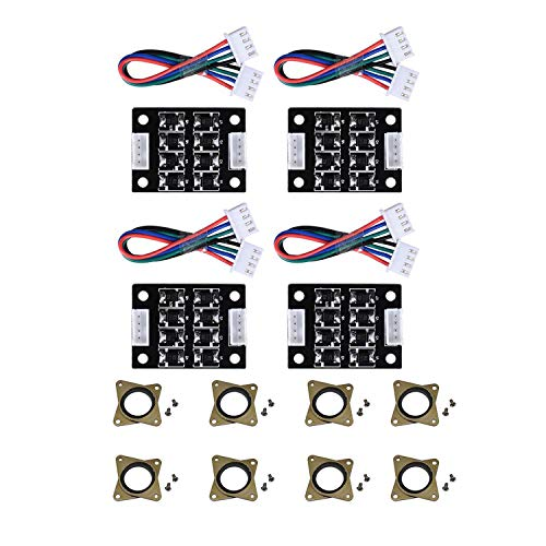 Sundey 4PCS TL-Smoother V1.0 Addon Module with Upgraded Nema 17 Stepper Steel and Rubber Vibration Dampers