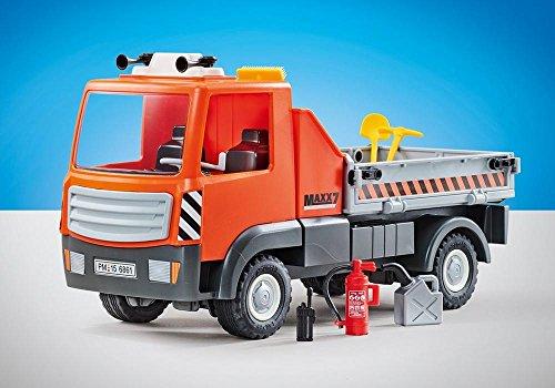 PLAYMOBIL 9801 Camión de Obras  Embalaje