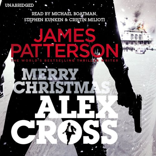 Merry Christmas, Alex Cross audiobook cover art