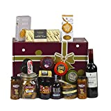 Mighty Selection Cheese. 🤤 Packed Full of Cheese, Biscuits, Chocolate, Chutney, Fudge and More! The Ultimate Luxury Food Hamper. The Chuckling Cheese Company.