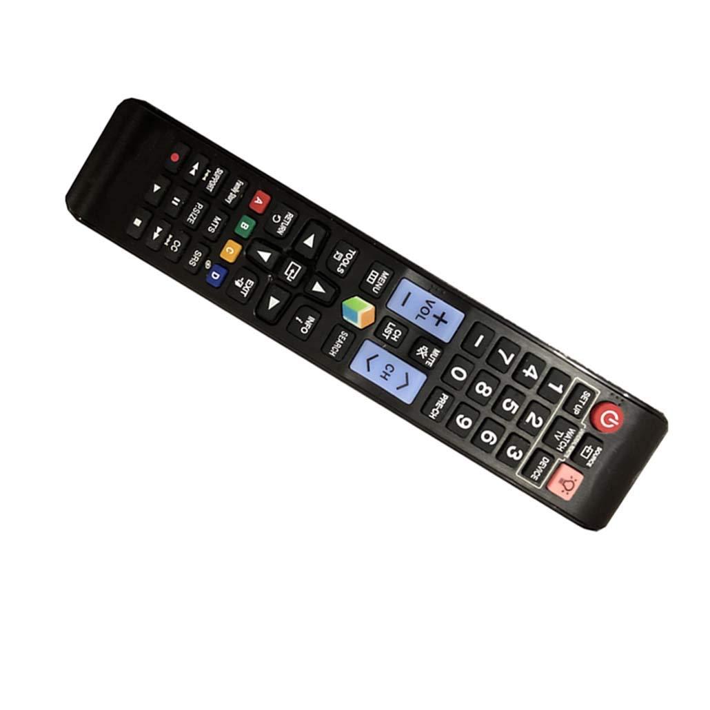 4EVER - Mando a distancia de repuesto para Samsung UN65JU670D UN55JU670D UN65JU7100FXZA UN75JU7100FXZA UA55HU9800JX Plasma LCD LED HDTV: Amazon.es: Electrónica