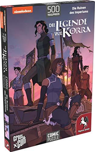 Pegasus Spiele 76007G - Puzzle: Die Legende von Korra (Die Ruinen des Imperiums), 500 Teile